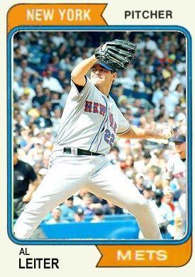 Al Leiter 1974 baseball card