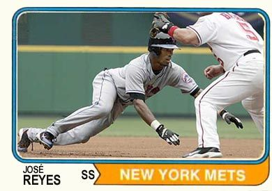 Jose Reyes baseball card