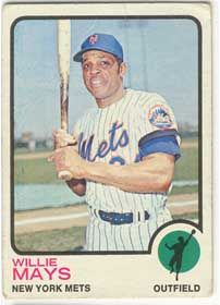 1973 Willie Mays
