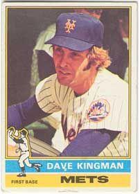 1976 Dave Kingman