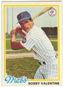 1978 Bobby Valentine