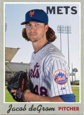 1970 Jacob deGrom