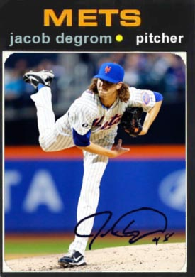 1971 Jacob deGrom
