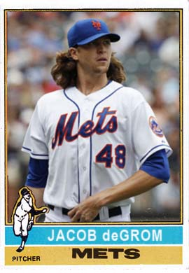 1976 Jacob deGrom