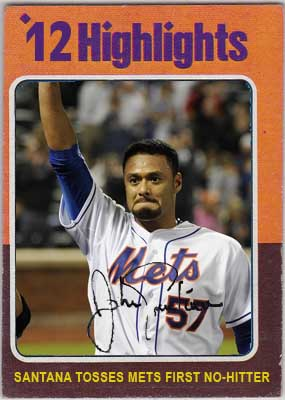 1975 Johan Santana (2012 Highlights, Santana no-hitter)
