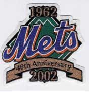 40th Anniversary sleeve patch