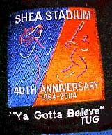 2004 Shea Stadium Mets Uniform Patch