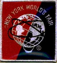 1964 World's Fair Mets Uniform Patch