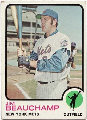 Jim Beauchamp 1973 baseball card