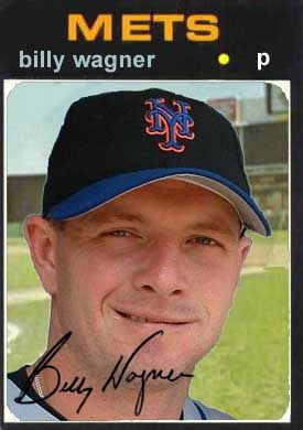 David Wright 1971 baseball card