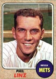 Topps 1968 Phil Linz