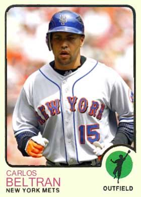 Ultimate Mets Database Carlos Beltran